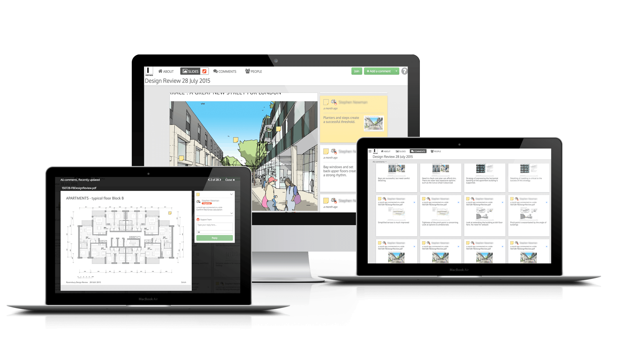 Design review on Stickyworld